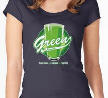 Green smoothie tee Women's Fitted Scoop T-Shirt