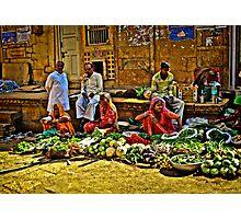 Market - Jaisalmer Photographic Print