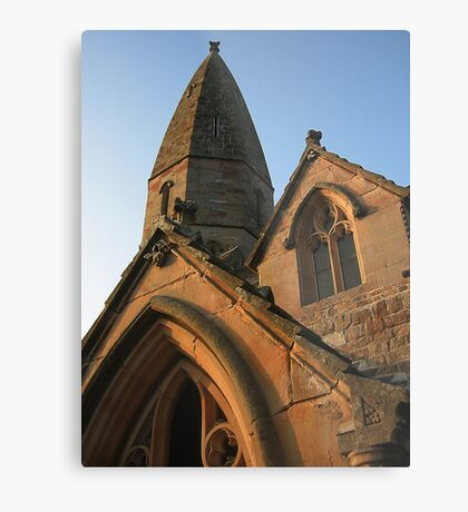 Clerical architecture. Metal Print