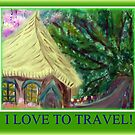 I LOVE TO TRAVEL by Ella May
