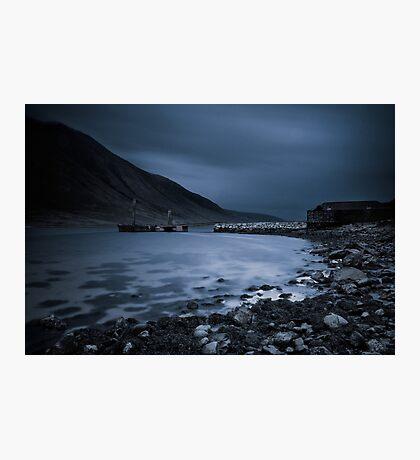 Loch Etive Pier Photographic Print