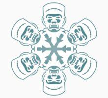 Frankenstein Snowflake One Piece - Short Sleeve