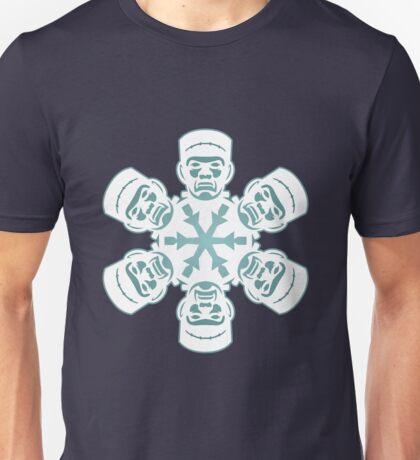 Frankenstein Snowflake Unisex T-Shirt
