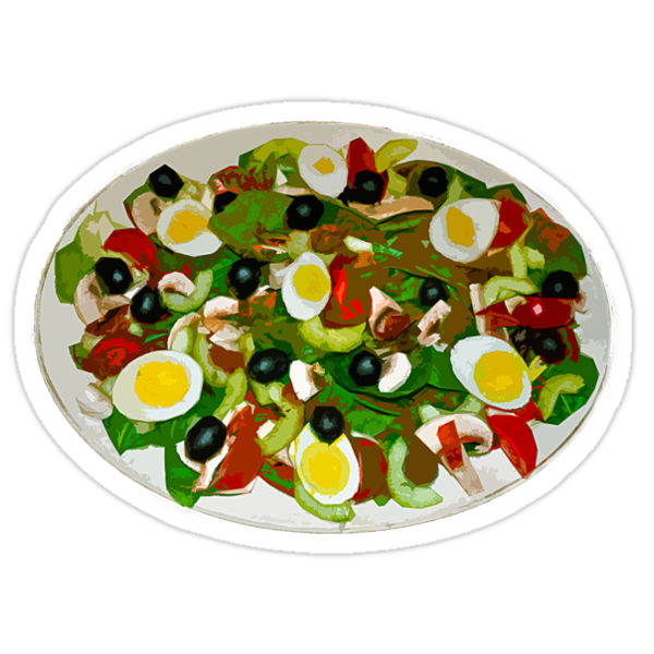 Spinach Salad by Paul Gitto