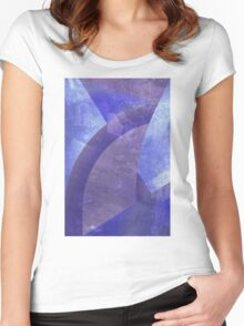 Cloudy Women's Fitted Scoop T-Shirt