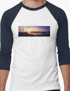 sunset panorama Men's Baseball ¾ T-Shirt