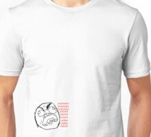 """ffuuu"" - rage faces Unisex T-Shirt"