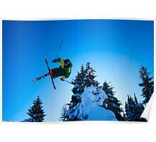 Ski Jump Poster