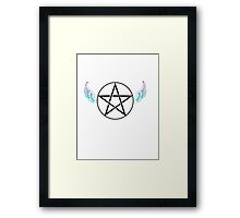 Devils Trap Framed Print