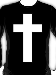 Cross (Faithful to God) [dark] T-Shirt
