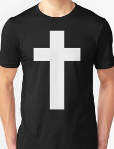 Cross (Faithful to God) [dark] Unisex T-Shirt