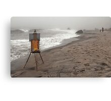 Rusty Easel Canvas Print