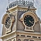 Clock Tower, Hill County Courthouse by Susan Russell