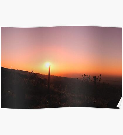 10-10-10 Sunset Poster