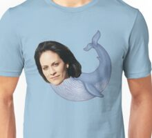 MONICA RE-WHALE-YES Unisex T-Shirt