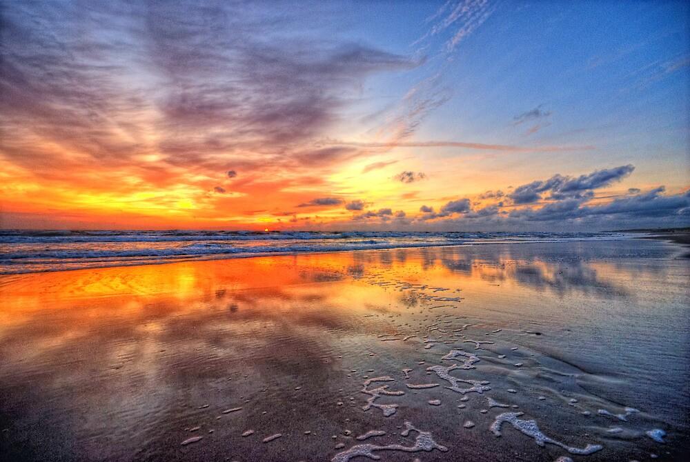 Sunset Callantsoog by Hetty Mellink