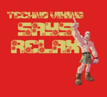 Techno Viking; RELAX! by stoopidstu