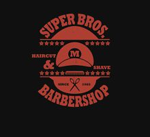 Super Bros. Barber Shop Unisex T-Shirt