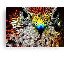 Fractual Eagle Canvas Print