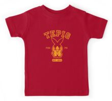 Tepig - College Style Kids Tee