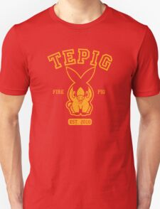 Tepig - College Style T-Shirt
