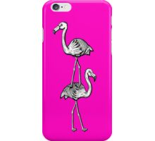 Flamingo Jenga iPhone Case/Skin