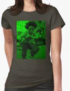 Joey Bada$$ feels greeny Womens Fitted T-Shirt