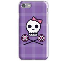 Skull Series SWEET TOOTH SKULL iPhone Case/Skin