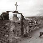 Taos Pueblo Cemetery - New Mexico by Lisa Blair