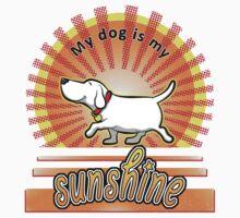 My Dog Is My Sunshine by davidicon