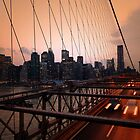 Looking Back at New York by Emily Swanson