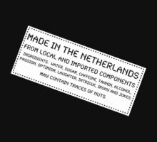 Traces Of Nuts - The Netherlands Kids Clothes