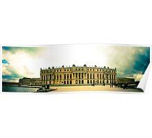 Panoramic Versailles Poster