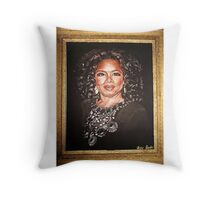 LADY OPRAH  Throw Pillow