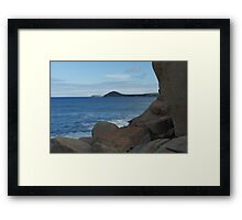 Granite Island Framed Print
