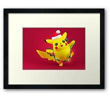 Pikachu's Christmas  Framed Print