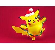 Pikachu's Christmas  Photographic Print