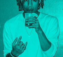 The Underachievers' Blue by Luggy