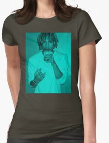 The Underachievers' Blue Womens Fitted T-Shirt