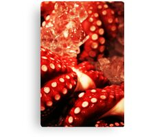 Tsukiji Octopus Canvas Print