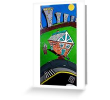 Urban Sprawl - The Urban Series Greeting Card