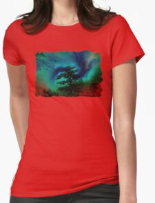 Storms Coming Womens Fitted T-Shirt