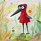 A Boy and a Bird in the Morning by Marianna Tankelevich