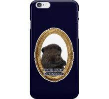 Gone with the beaver iPhone Case/Skin