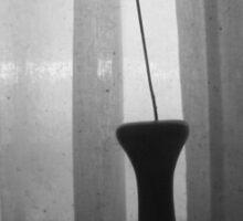 Vase Silhouette B&W TTV Sticker