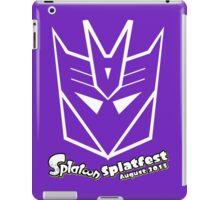 Splatfest Team Decepticons  v.1 iPad Case/Skin