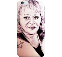 SYLVIA BROWNE  iPhone Case/Skin