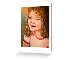 Portrait of Holley Greeting Card