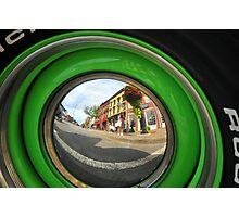 Hub Reflection Closeup Photographic Print