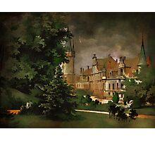 Bożków Castle...1890 y Photographic Print